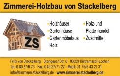 Zimmerei-Holzbau Felix von Stackelberg
